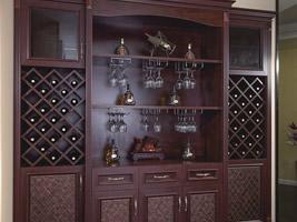 整墙式酒柜
